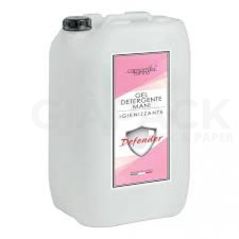 Hand sanitizing gel Defender 5000 ml