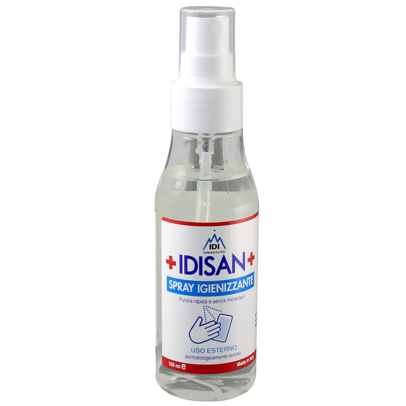 Idisan Sanitizing Spray for Hands and Surfaces Mask 100ml