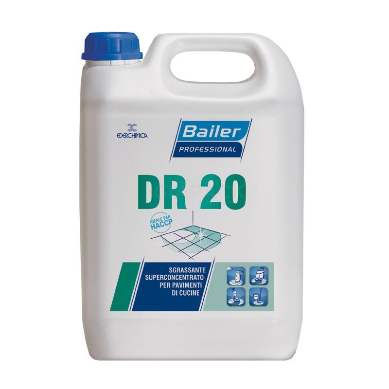 Bailer DR 20 sgrassante superconcentrato per pavimenti kg 6