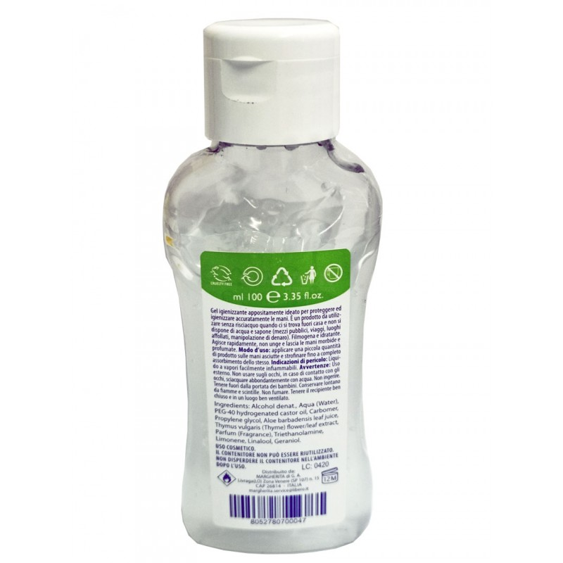 Gel mani igienizzante 100 ml Extra Retinoid
