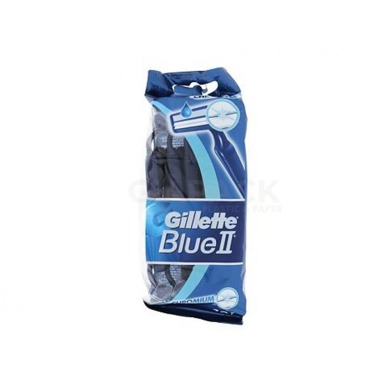 Lamette Gillette Blue II cf 10 pz