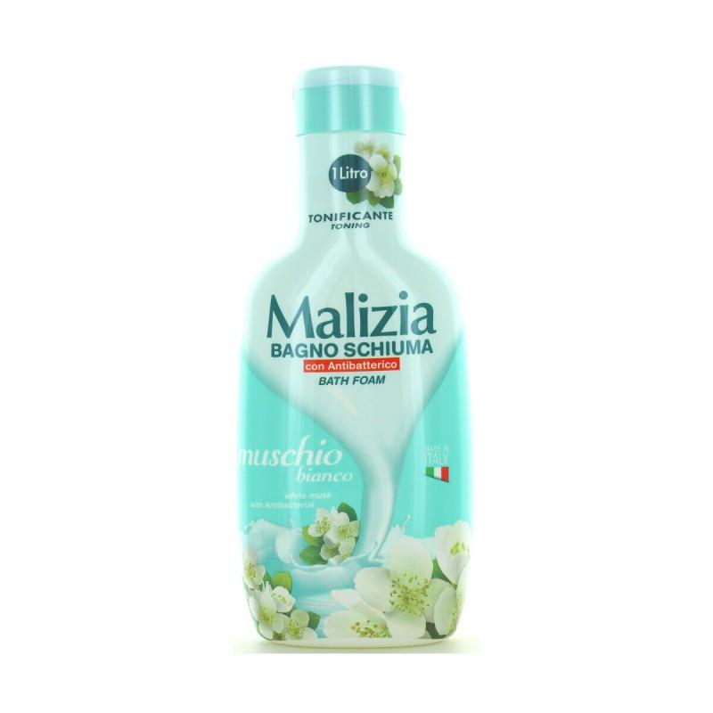 Malizia  Bagno Schiuma Muschio Bianco 1000 ml