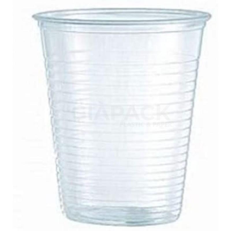 Transparent Plastic Cups Vending 166 cc 100 pcs