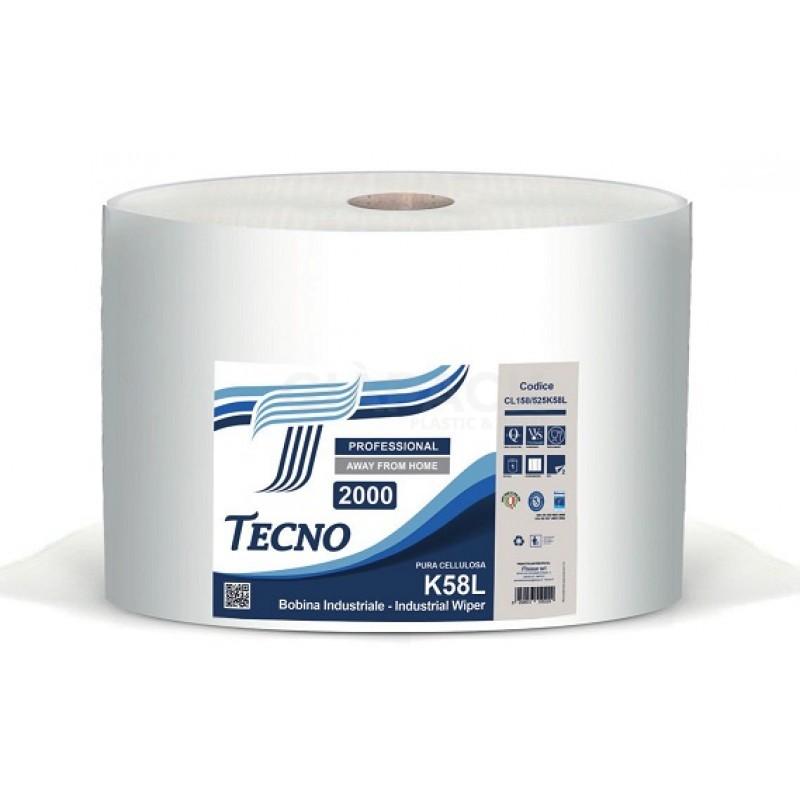 Paper roll Tecno K58L pure cellulose