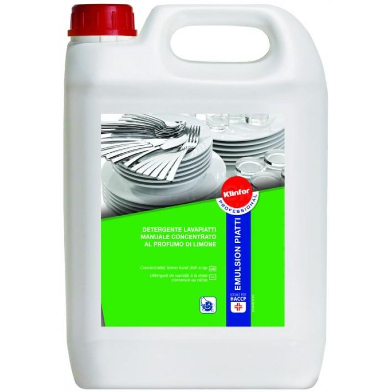 Detergente Liquido Klinfor Emulsion Piatti 5 KG