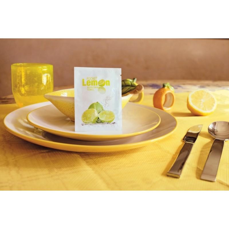 Lemon Refreshing Hand Wipes 500 pcs