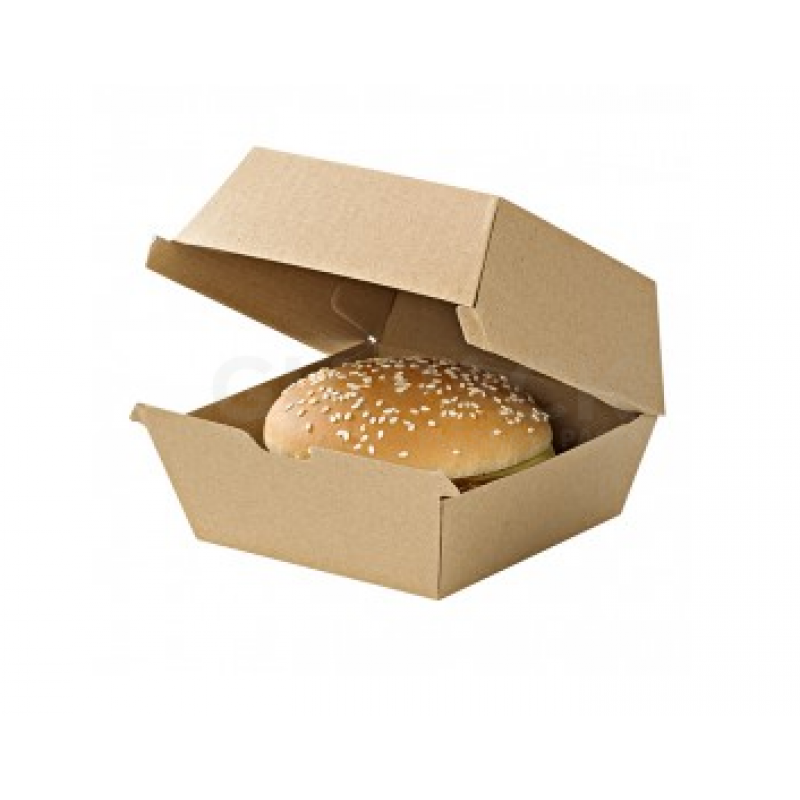 Hamburger box 178x155x80 pack 50 pcs